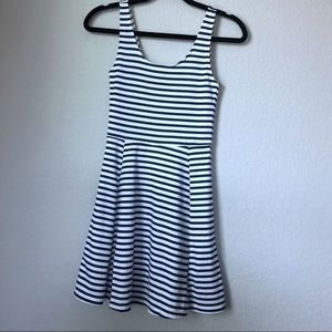 H&M Dresses - NWT/ H&M Navy blue/white Striped dress/ size 2